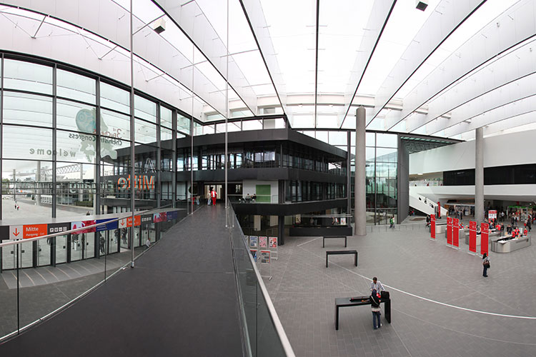 Messe Nürnberg - Bereich Eingang Mitte