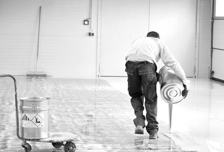 Industriebodenbeschichtung - Knöller - Bild