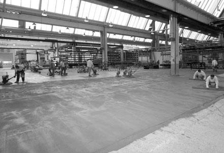 Industrieestrich - Knöller - Bild