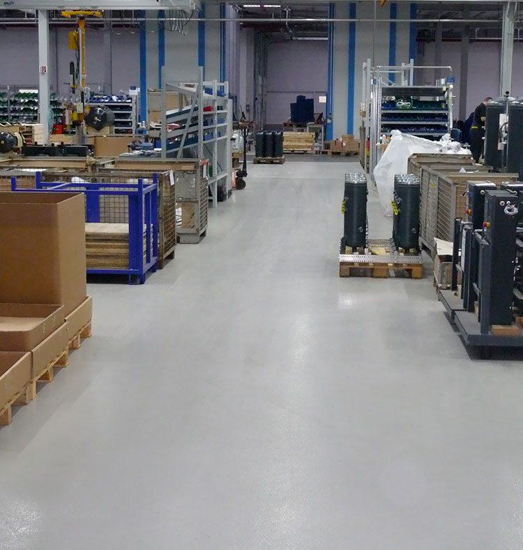 KAESER KOMPRESSOREN GmbH - Knöller Projektbericht