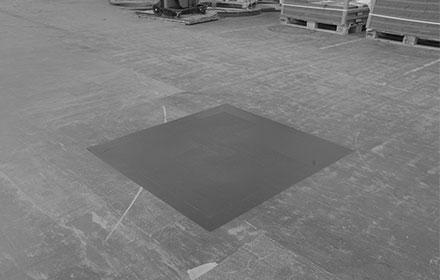 Versiegelter Industrieboden nach Sanierung